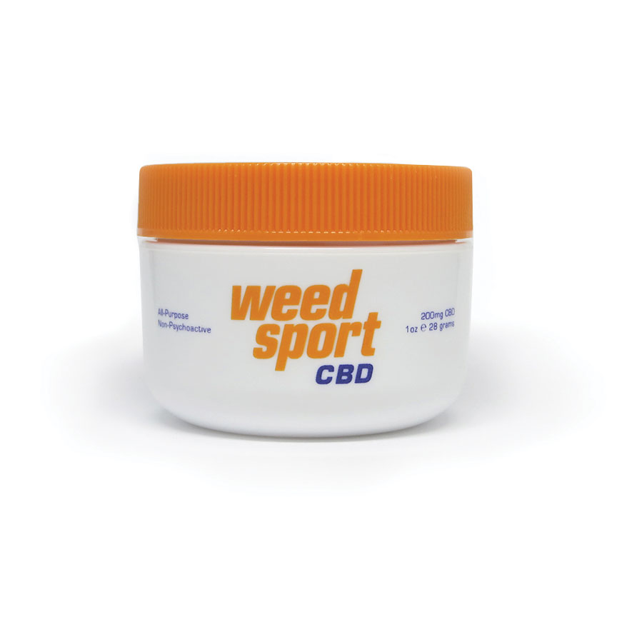 WeedSport™ CBD Muscle Rub