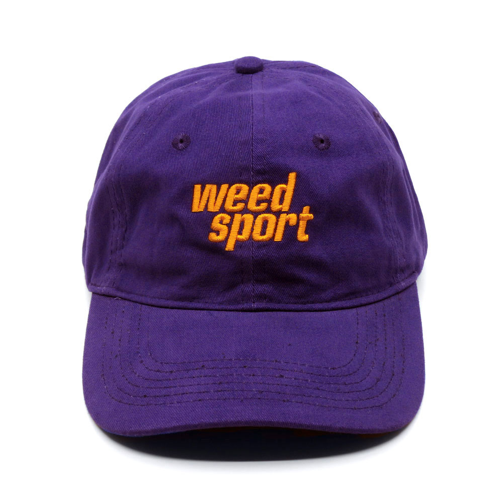 Logo Cap (Purple/Orange)