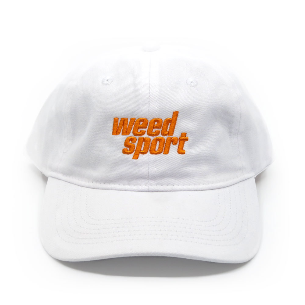 Logo Cap (White/Orange)