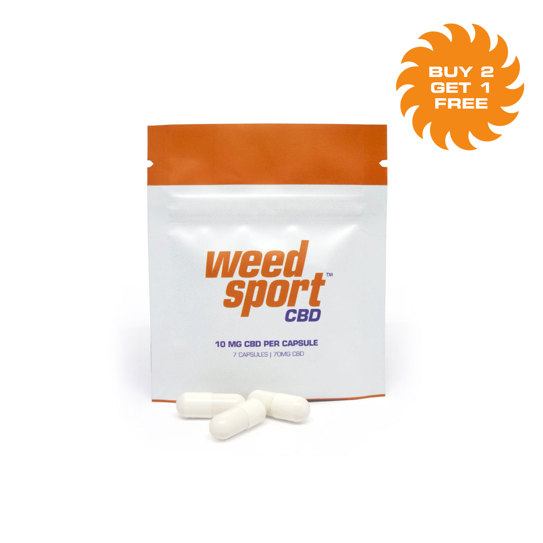 WeedSport™ CBD Capsules