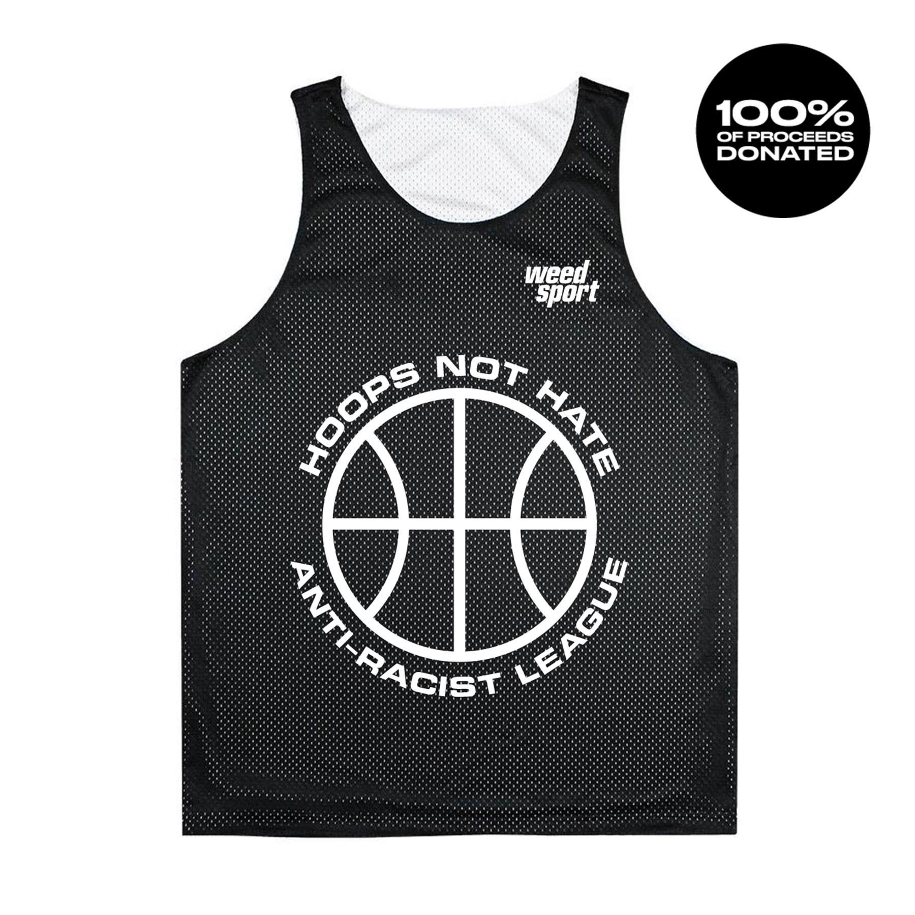 Hoops Not Hate (Reversible Practice Jersey)