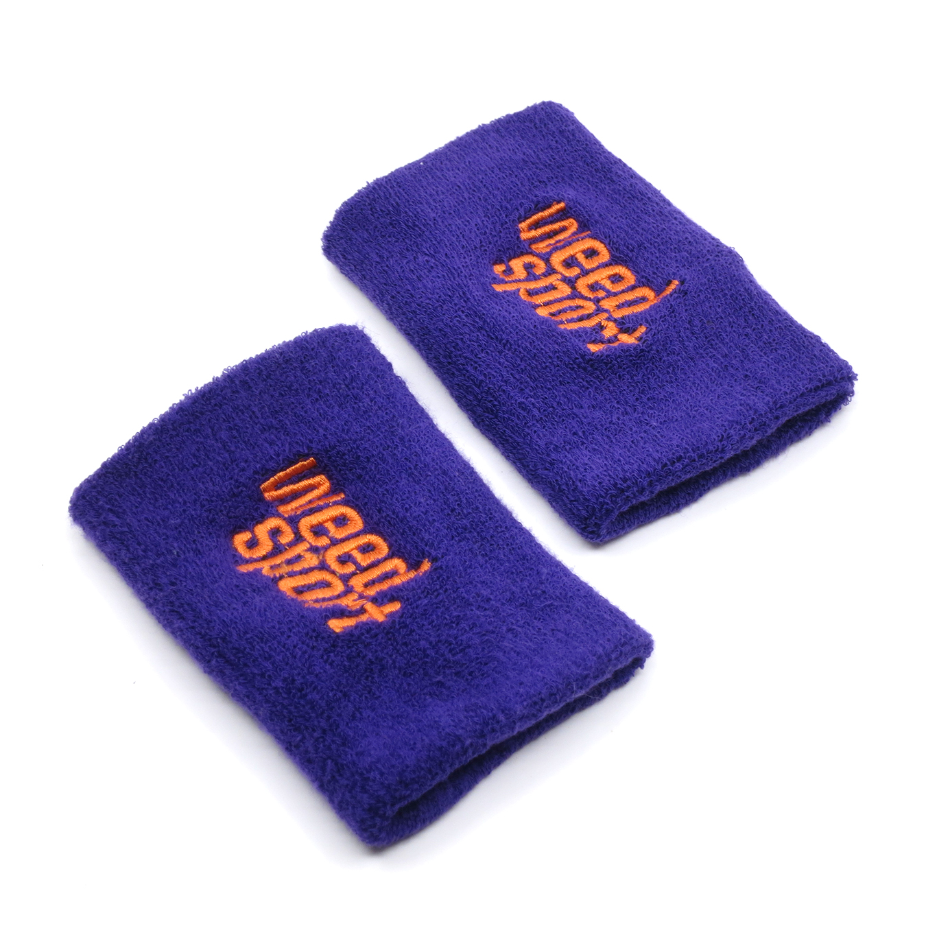 Big Wristbands (Purple/Orange)