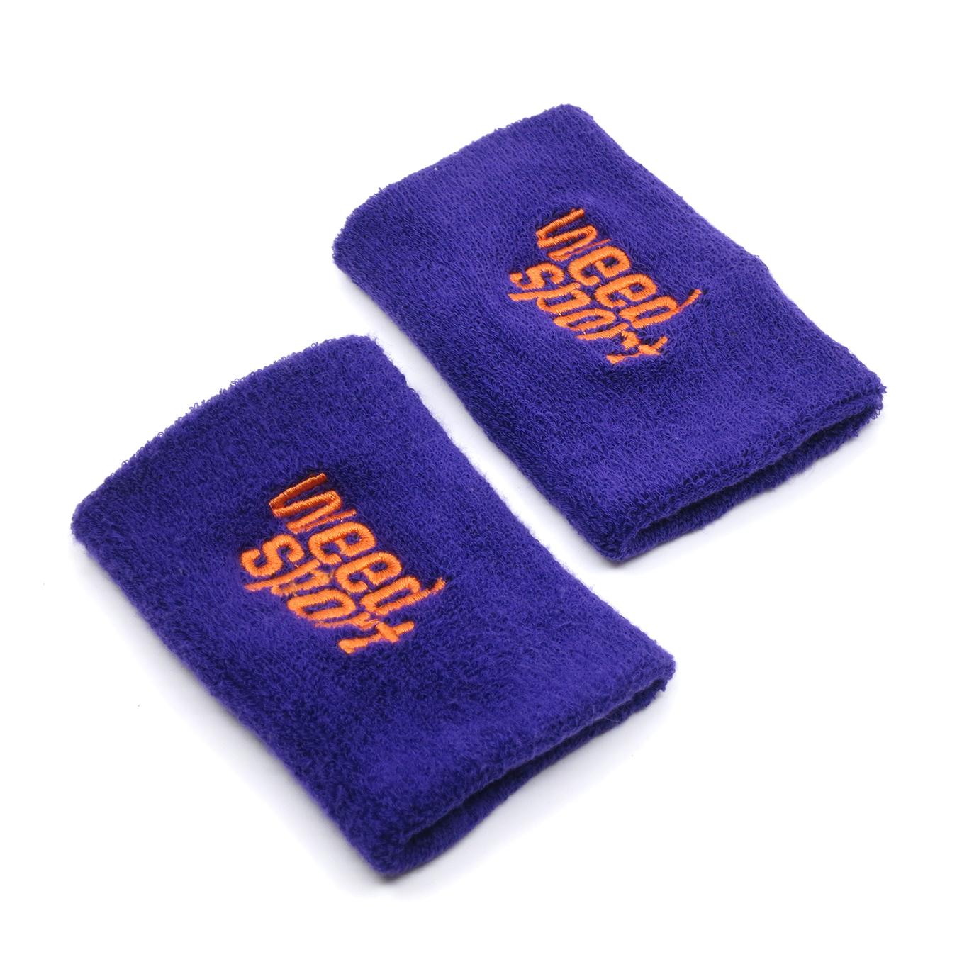 Big Wristbands (Purple/Orange)
